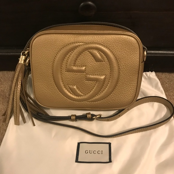 a1c26ee93 Gucci Bags | Sold Soho Disco Bag | Poshmark